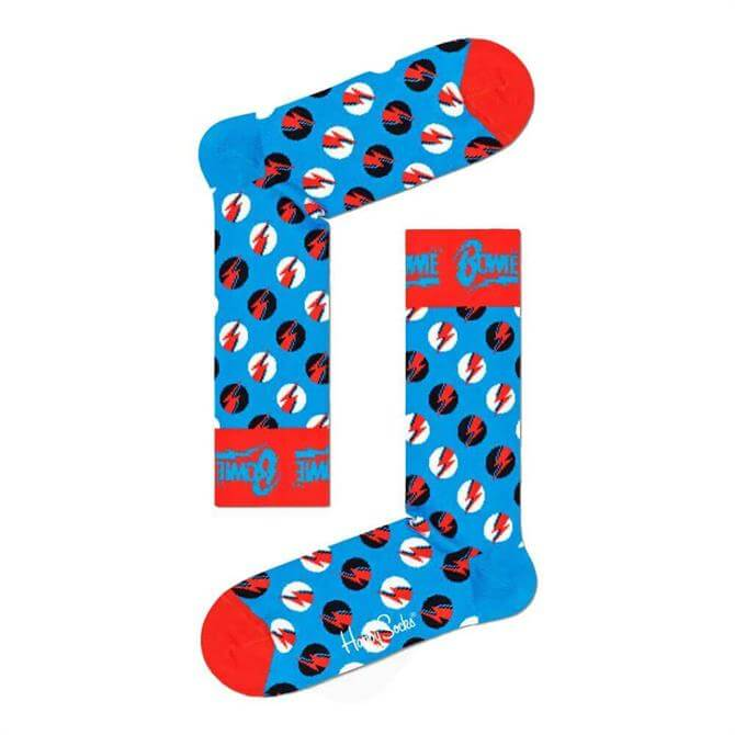 Happy Socks Big Bowie Dot Socks