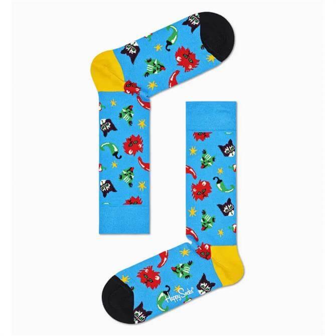 Happy Socks Chili Cat Sock