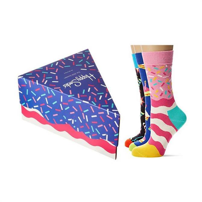 Happy Socks - 3 Pack Happy Birthday Socks In A Gift Box