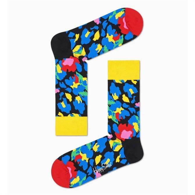 Happy Socks Leopard Sock