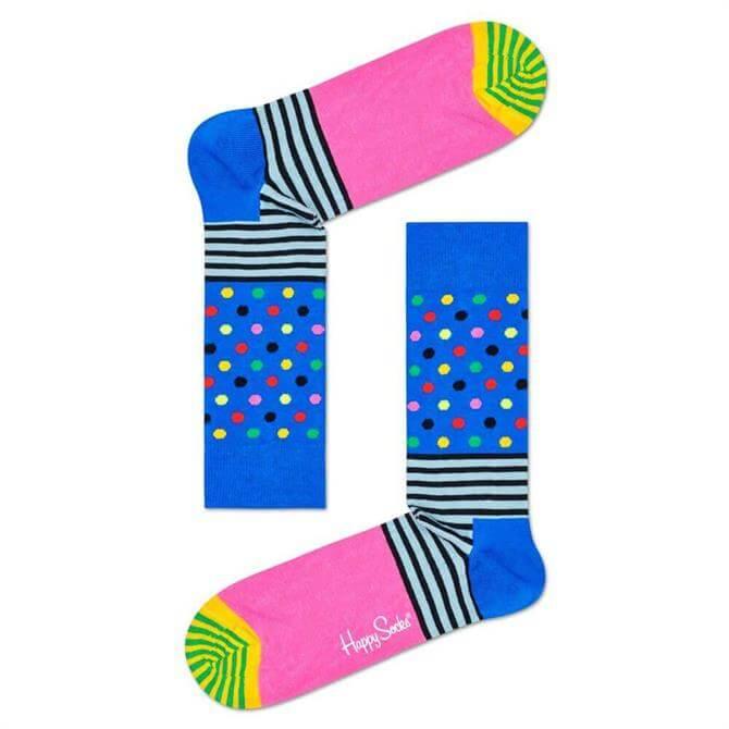 Happy Socks Stripes And Dots Sock
