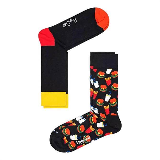 Happy Socks Hamburger 2 Pack Socks