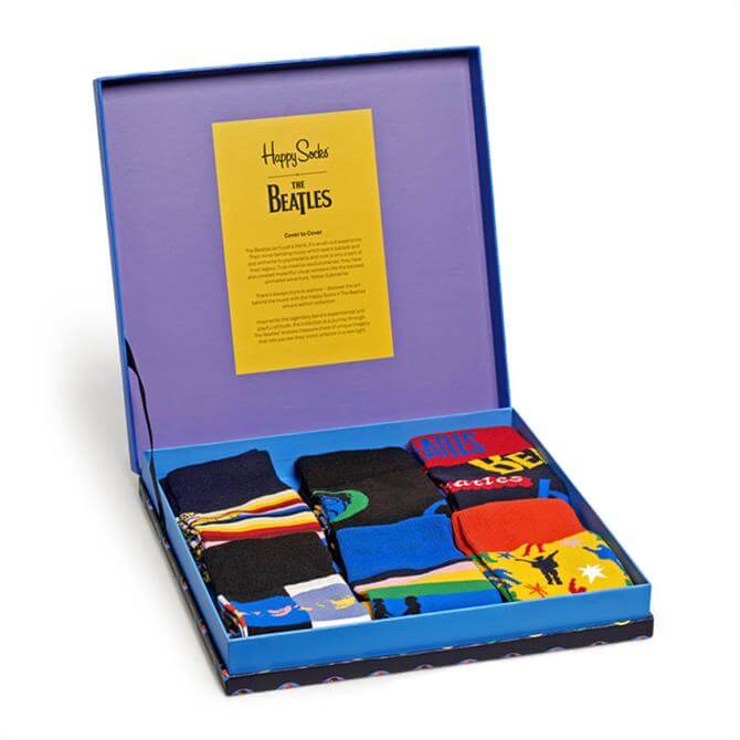 Happy Socks The Beatles Collector Box Set