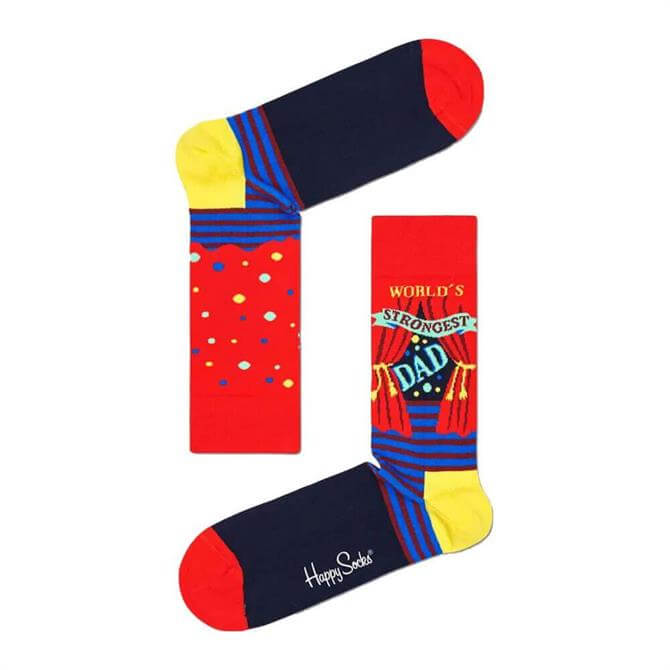 Happy Socks World's Strongest Dad Socks
