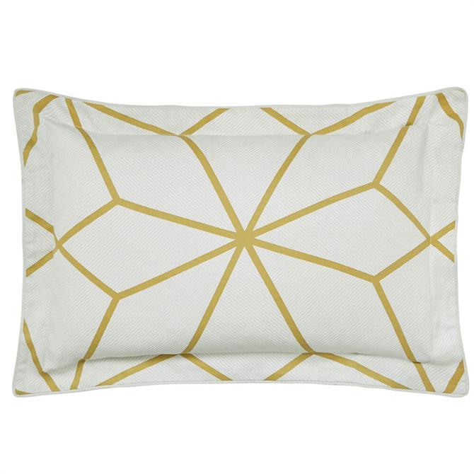 Harlequin Axal Ochre Oxford Pillowcase