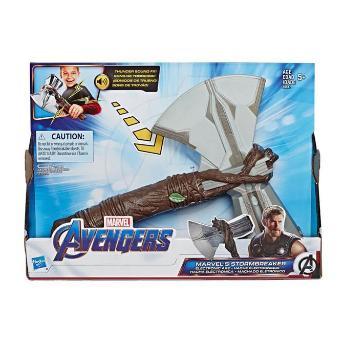 Hasbro Marvel Avengers: Infinity War Marvel's Stormbreaker Electronic Axe Thor Toy