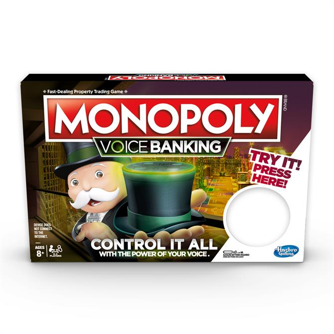 Hasbro Monopoly Voice Banking Electronic Family Board Game