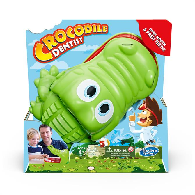Crocodile Dentist Kids Games