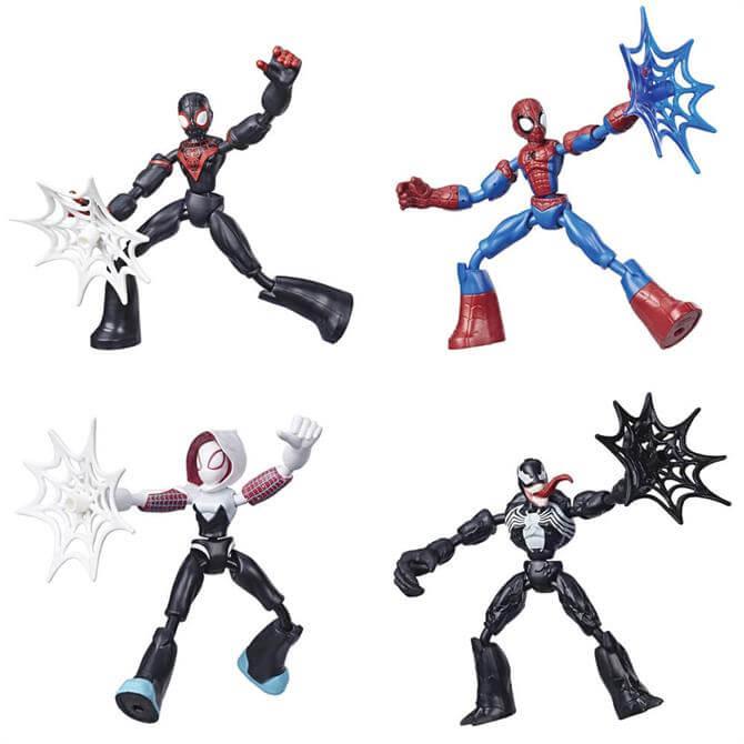 Hasbro Marvel Spider-Man Bend and Flex Action Figure Assortment