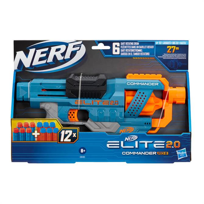 Hasbro Nerf Elite 2.0 Commander RD-6 Blaster Toy