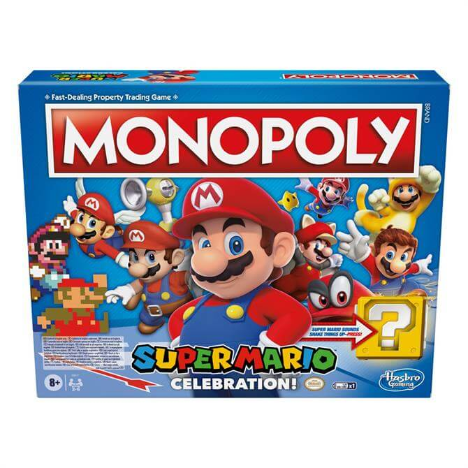 Hasbro Monopoly Super Mario Celebration Edition