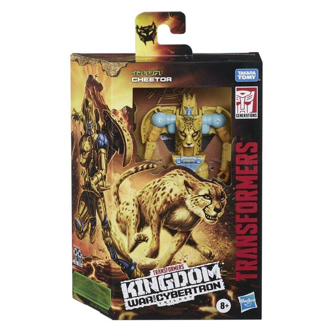 Transformers Generations War for Cybertron: Kingdom Deluxe WFC-K4 Cheetor