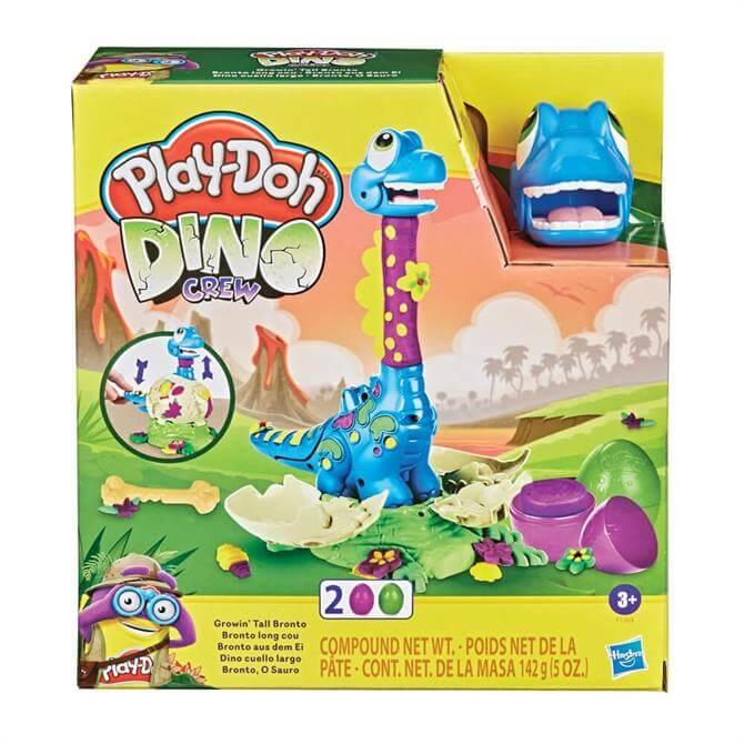 Hasbro Play-Doh Dino Crew Growin' Tall Bronto Playset