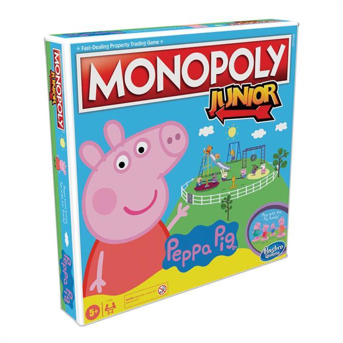 Hasbro Monopoly Junior Game Peppa Pig Edition