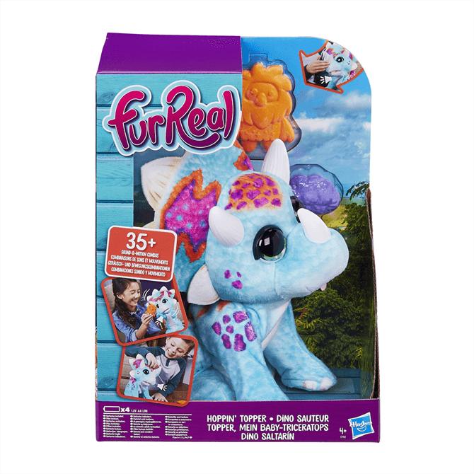 Hasbro FuReal Hoppin Topper Interactive Plush Pet Toy