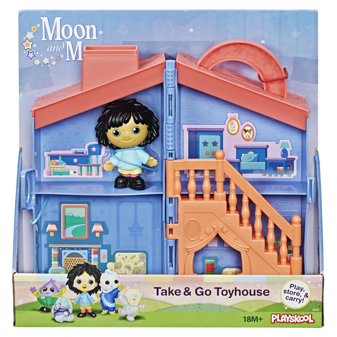 Hasbro Moon and Me Take and Go Toy House