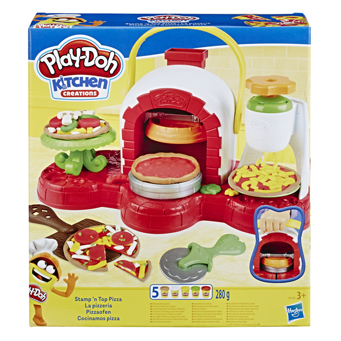 Hasbro Play-Doh Stamp 'n Top Pizza Oven Toy