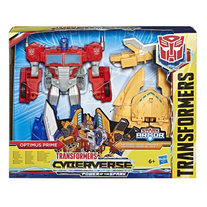 Hasbro Cyberverse Spark Armor Ark Power Optimus Prime Action Figure