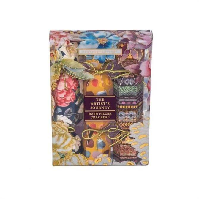 Heathcote & Ivory The Artists Journey Bath Fizzer Crackers