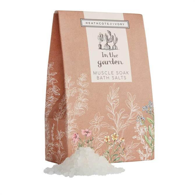 Heathcote & Ivory In The Garden Muscle Soak Bath Salts 200g
