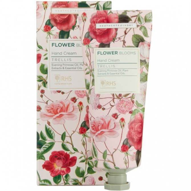 Heathcote & Ivory RHS Flower Blooms Trellis Hand Cream 100ml