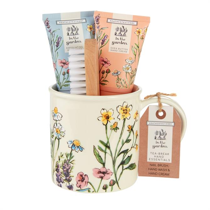 Heathcote & Ivory In The Garden Tea Break & Hand Essentials Set