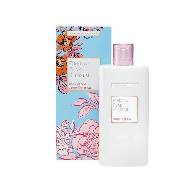 Heathcote & Ivory Pinks & Pear Blossom Body Cream 250ml