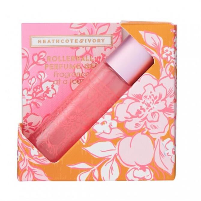 Heathcote & Ivory Pinks & Pear Blossom Perfume Gel Rollerball 10ml