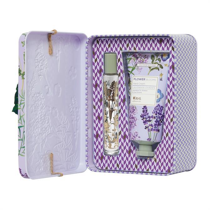 Heathcote & Ivory RHS Lavender Garden Perfume Gel & Hand Cream Set