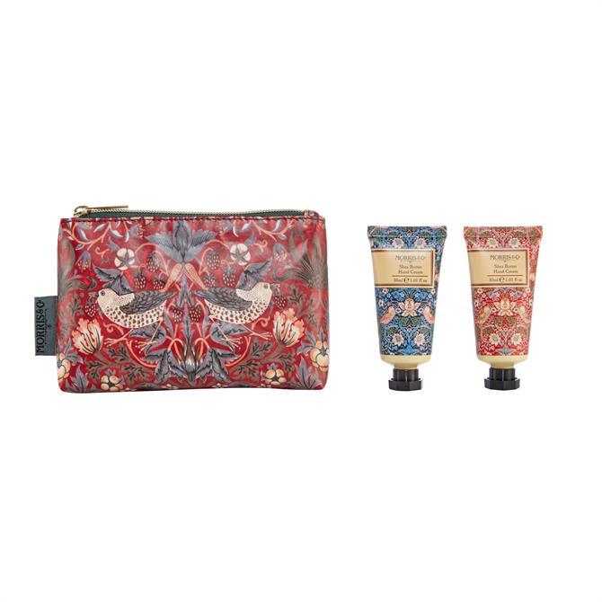 Morris & Co Strawberry Thief Hand Care Bag