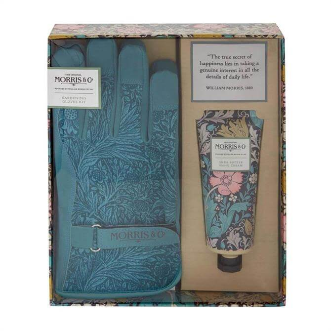 Morris & Co. Pink Clay and Honeysuckle Gardening Gloves Kit