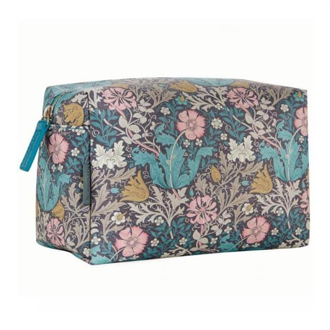 Morris & Co. Pink Clay and Honeysuckle Large Wash Bag