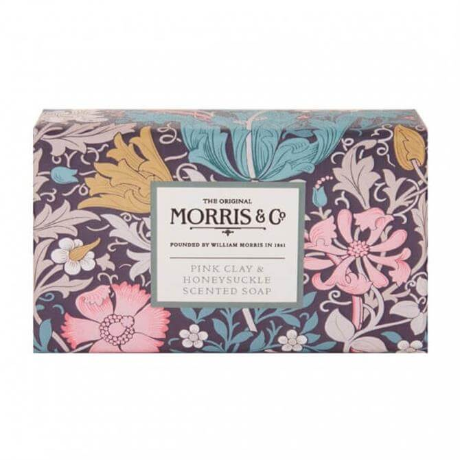 Morris & Co. Pink Clay & Honeysuckle Scented Soap 240g