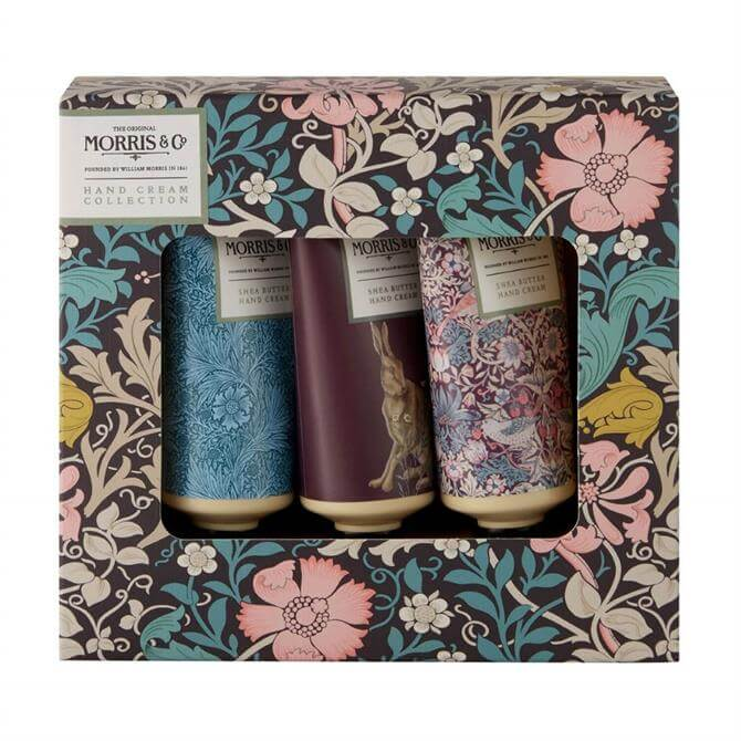 Morris & Co. Pink Clay & Honeysuckle Hand Cream Collection x3 30ml