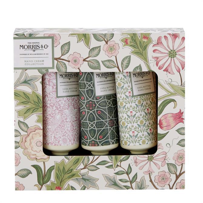 Morris & Co Jasmine & Green Tea Hand Cream Set x3