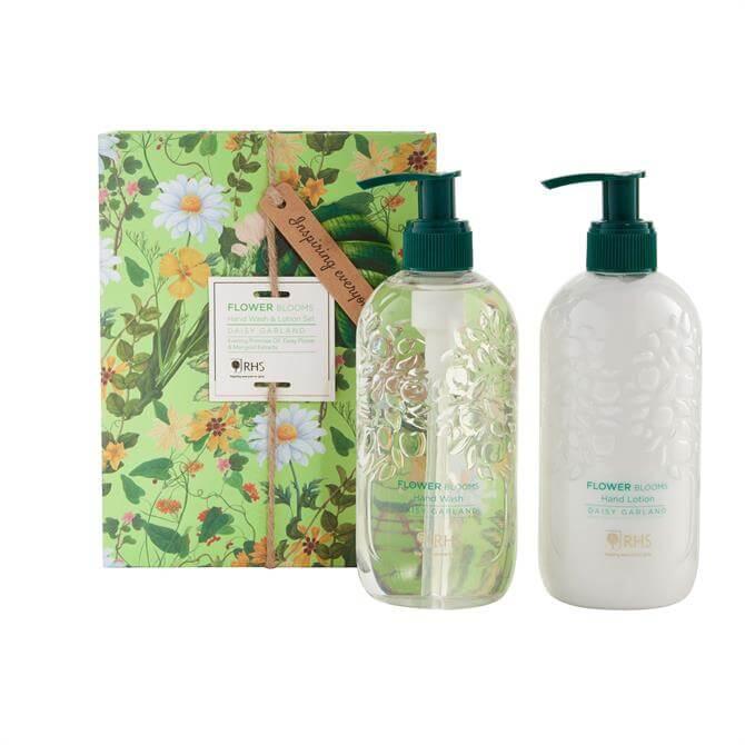 Heathcote & Ivory RHS Daisy Garland Hand Wash and Lotion Gift Set