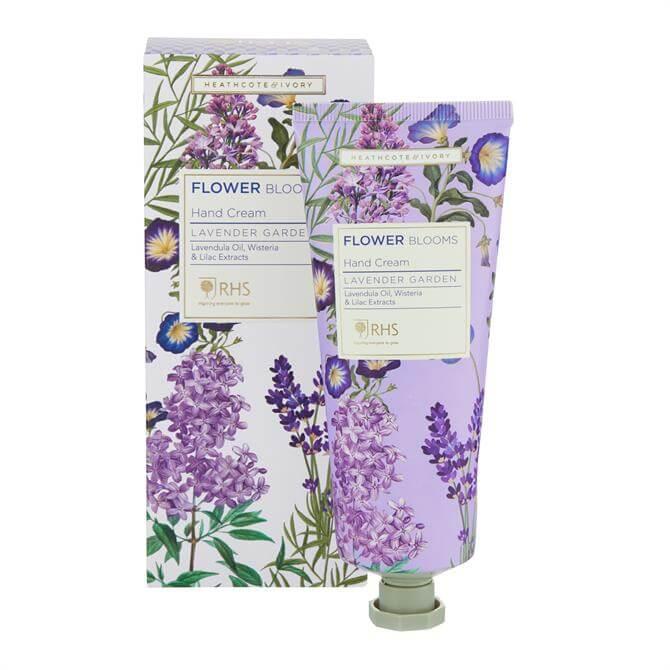 Heathcote & Ivory RHS Lavender Garden Hand Cream 100ml
