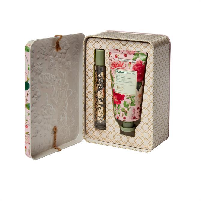 Heathcote & Ivory RHS Trellis Perfume Gel & Hand Cream Set