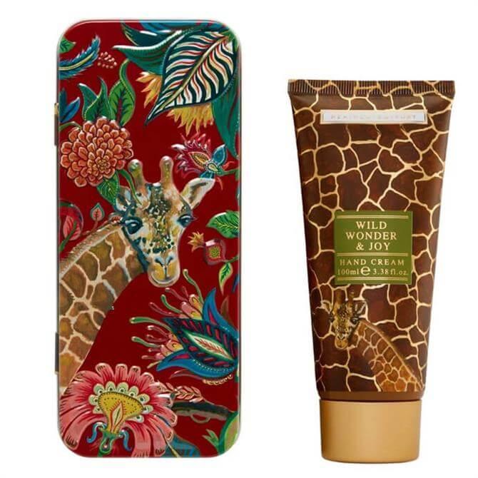 Heathcote & Ivory Wild Wonder & Joy Hand Cream in Tin