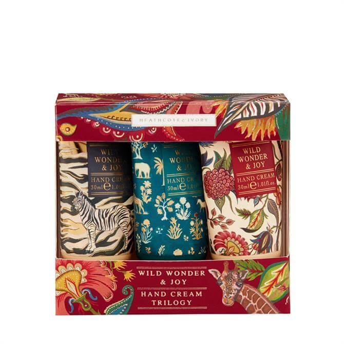 Heathcote & Ivory Wild Wonder & Joy Hand Cream Trio