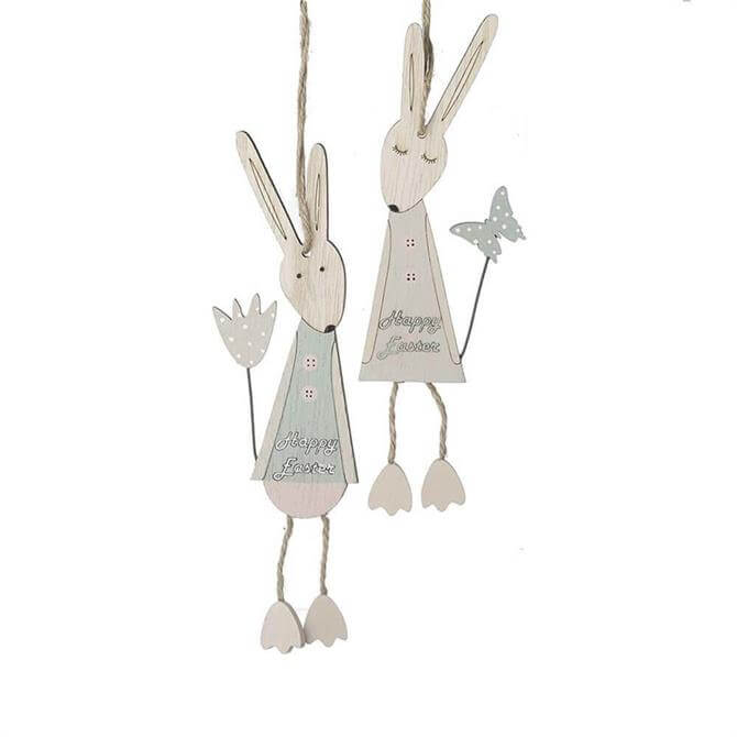 Dangle Leg Rabbit Hanging Decorations Assorted