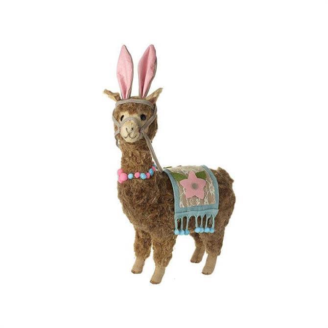Llama Wearing Rabbit Ears & Blanket