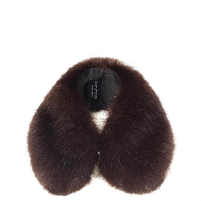 Helen Moore Treacle Faux Fur Shirt Collar