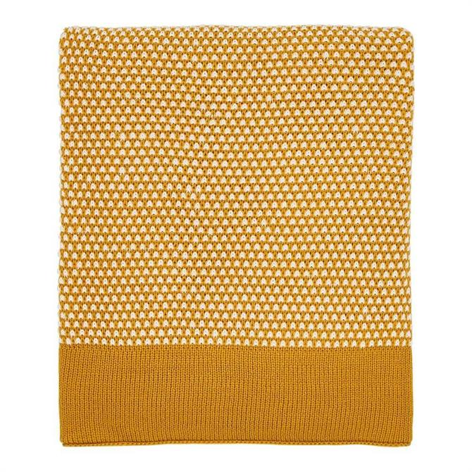 Helena Springfield Cassia/Groove Knitted Throw