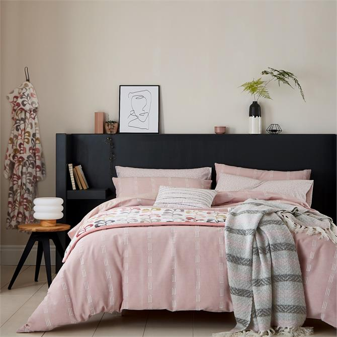 Helena Springfield Chambray Blush Duvet Cover Set