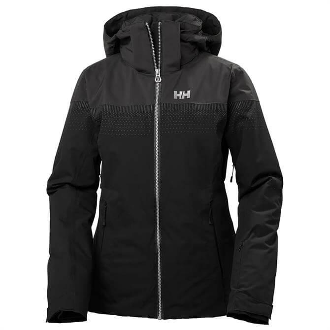Helly Hansen Women's Motionista Lifaloft Ski Jacket - Black