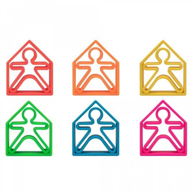 Hippychick Dena Silicone Toy – 12 Piece Set