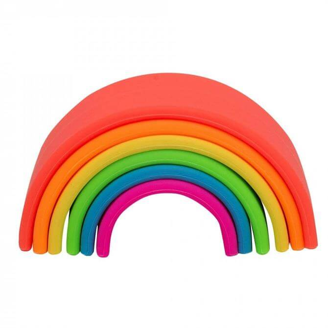 Hippychick Dena Rainbow 6 Piece Play Set – Neon