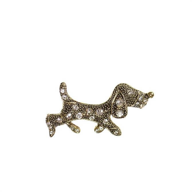 Hot Tomato Ain't Nothing But a Hound Dog Brooch