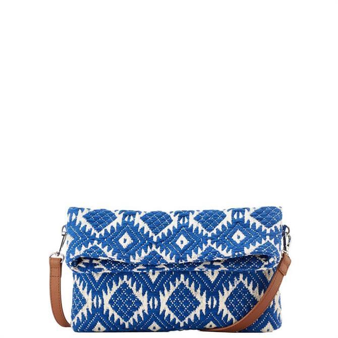 How & Hill Fabric Clutch/Crossbody Bag